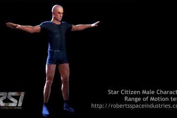 Star Citizen Male Character Range Of Motion