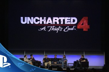 Uncharted 4: Stories From The Performance Capture Set Panel
