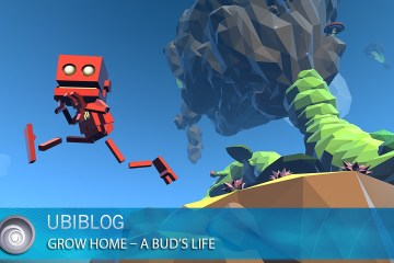 Prototype Footage Of The Procedural Animation In Grow Home