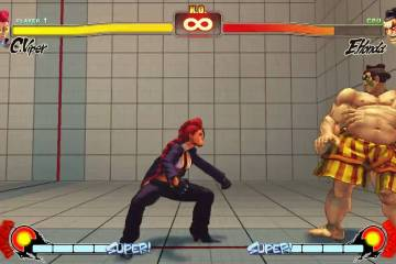 Street Fighter IV Animation Swap