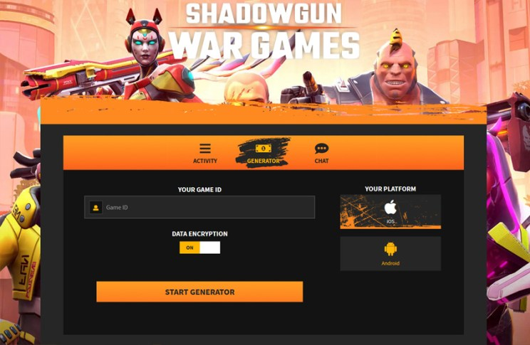 Shadowgun War Games Hack Generator