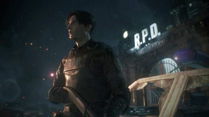 Leon in RE 2