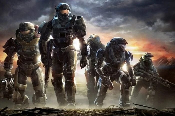 Promotional picture of Master Chief from Halo