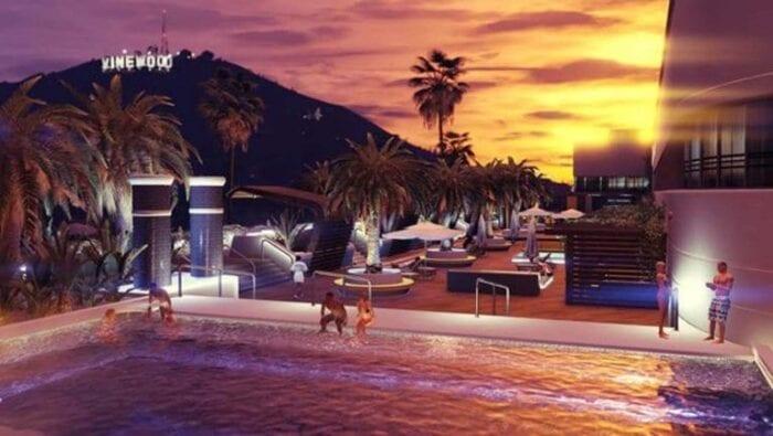 GTA Online at sunset