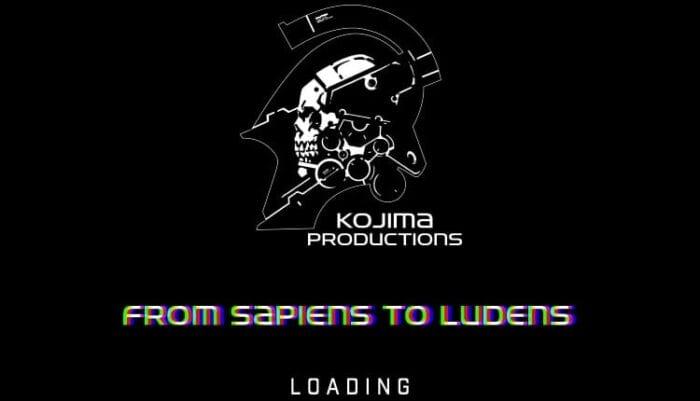 loading screen from kojima productions