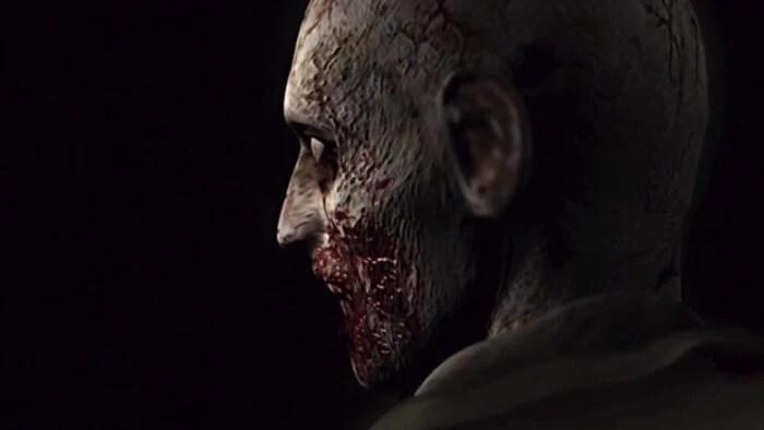 resident evil zombie encounter
