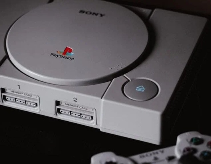 ps1 stock image