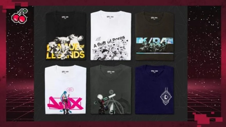 UNIQLO and League of Legends clothing collab