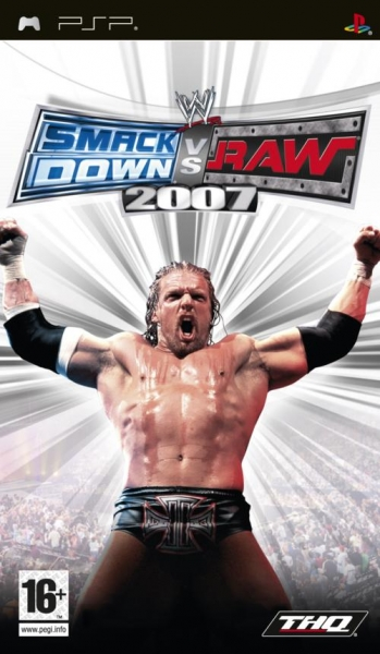 Wwe Smackdown Vs Raw 2007 PSP Jeux Occasion Pas Cher Gamecash