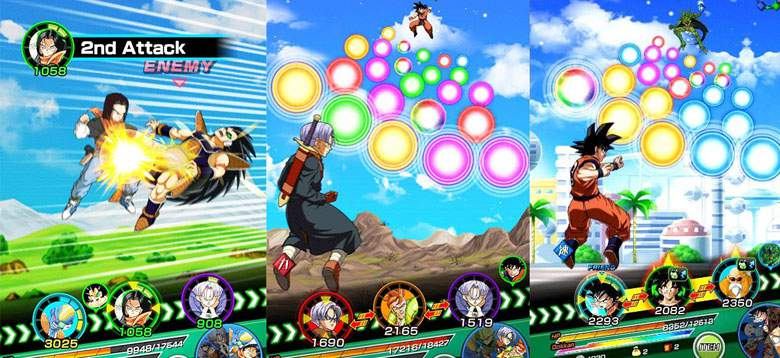 Dragon Ball Z Dokkan Battle team