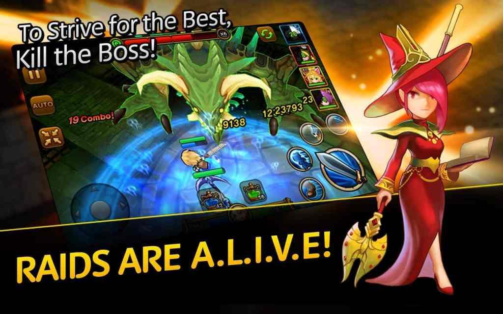Dungeon Hunter Super Brawl boss raids