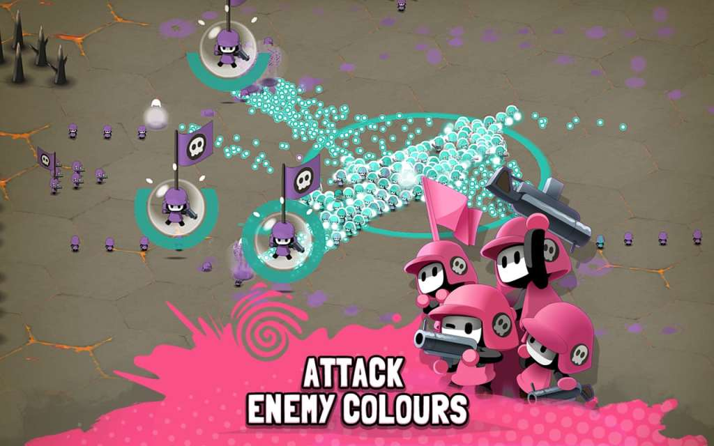 Tactile Wars attack
