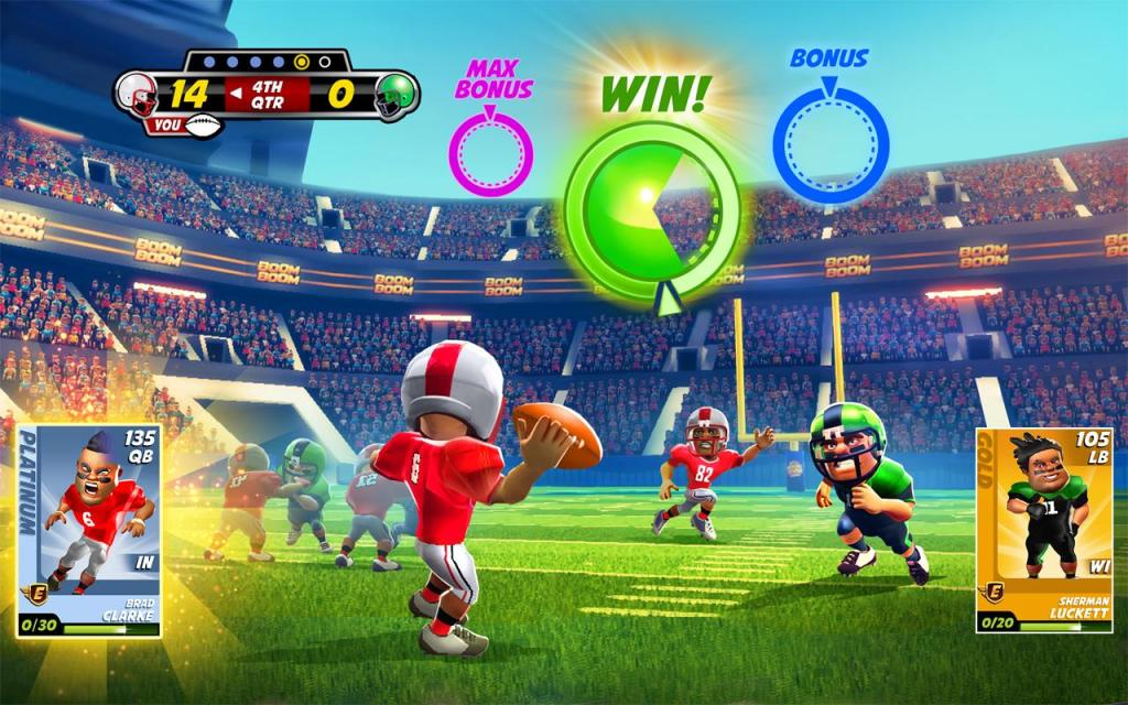 Boom Boom Football choose color