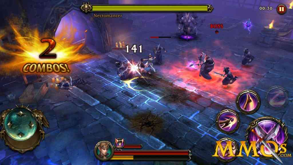 Eternity Warriors 4 abilities
