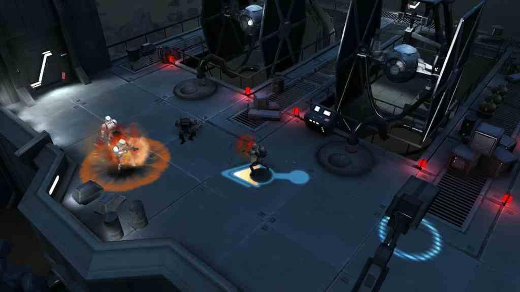 Star Wars Uprising abilities