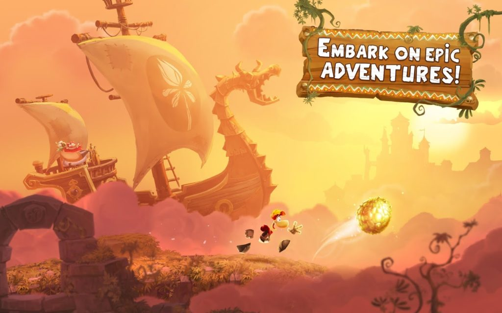 Rayman Adventures epic