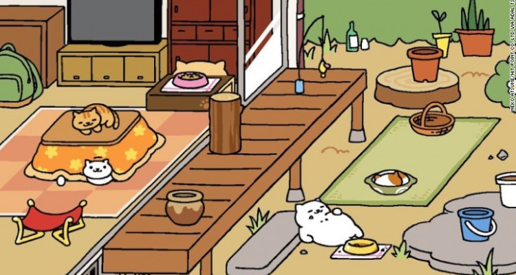 Neko Atsume Kitty Collector fea