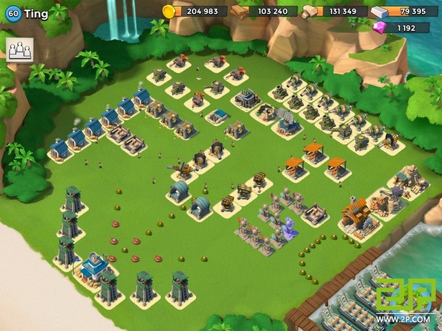 boom beach defences