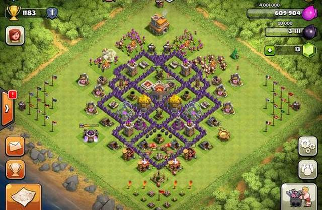 clash of clans layout 5