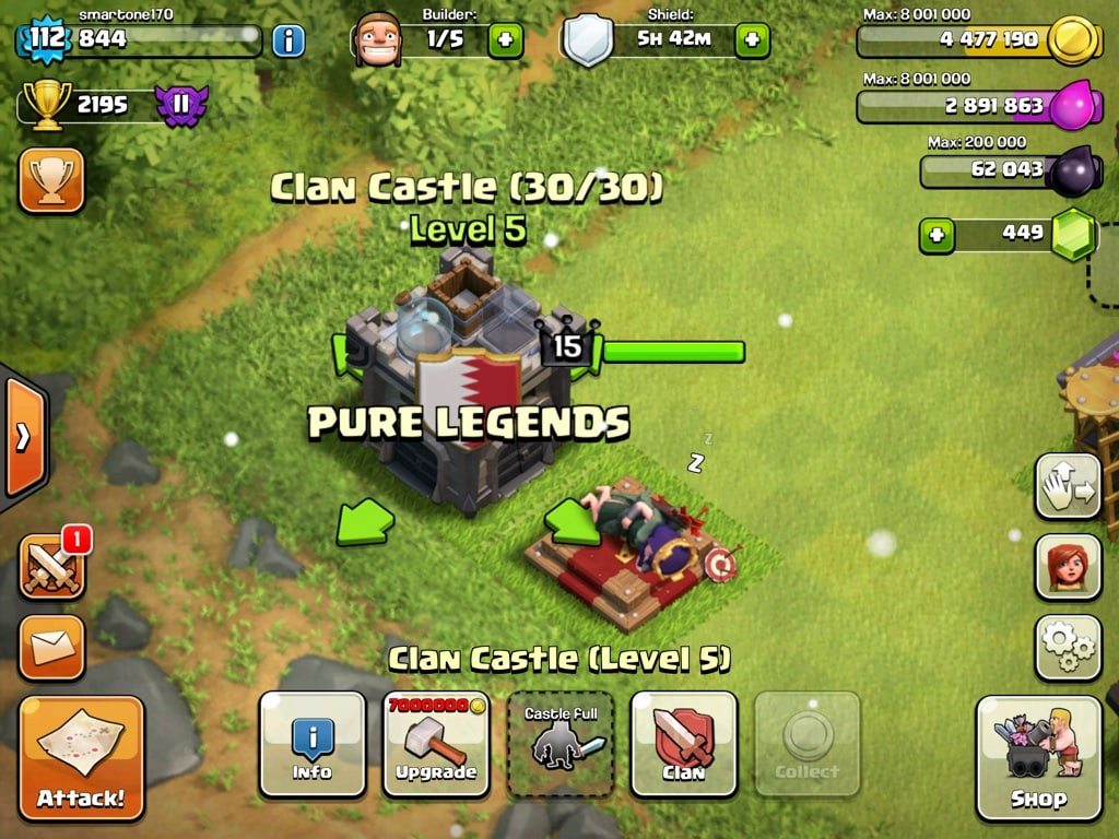 coc hero sleep