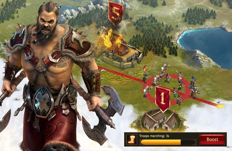 download vikings War of Clans free windows