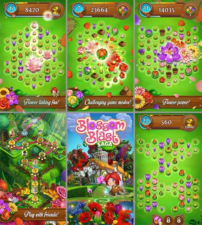 download Blossom Blast Saga apk
