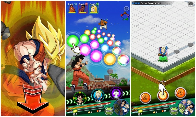 download DBZ Dokkan Battle apk
