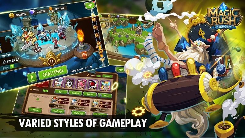 download Magic Rush Heroes apk win