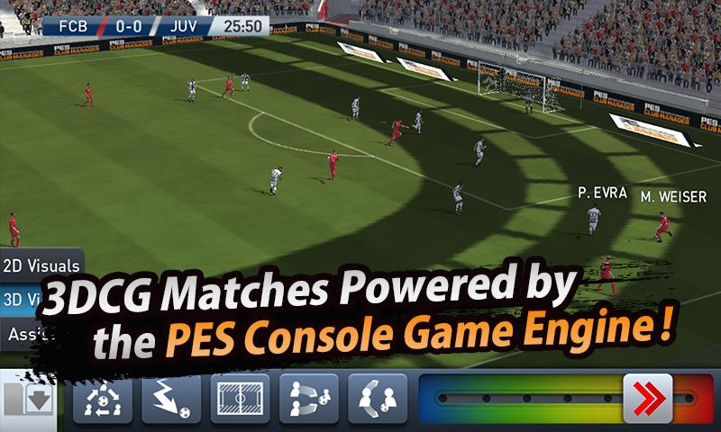 download PES Club Manager free apk