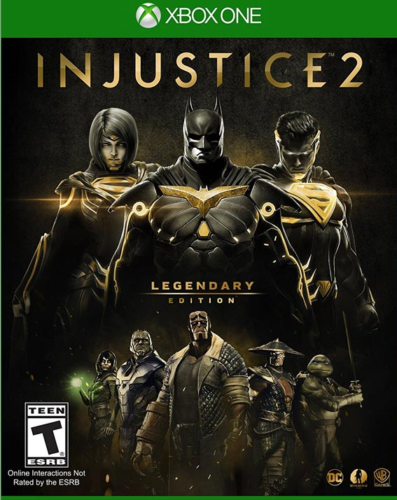 INJUSTICE 2 LEGENDARY EDITION XBOX ONE Game Cool