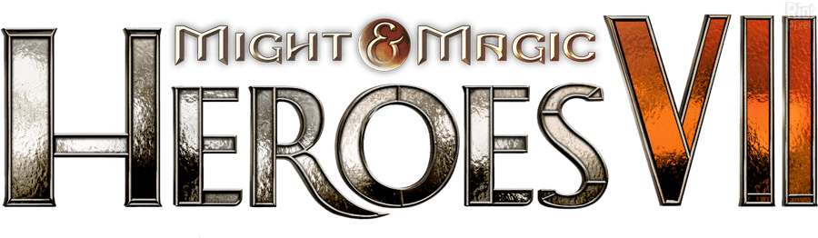Logo Might and Magic - Heroes VII
