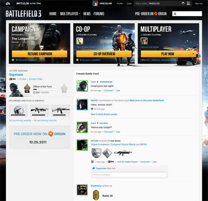 Battle Torn: Examining the success and slouch of Battlefield 3 - Part 1