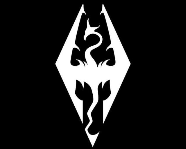 Skyrim - logo
