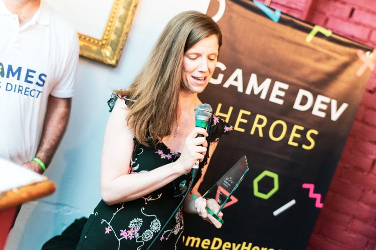 Lesleyann White - QA Winner - Game Dev Heroes