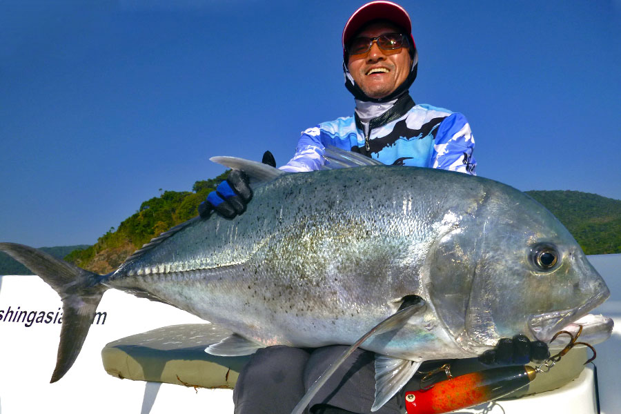 giant-trevally_popping_andaman_pluger-b4-rod_shimano-sw-14000-reel_dpy-popper_jung