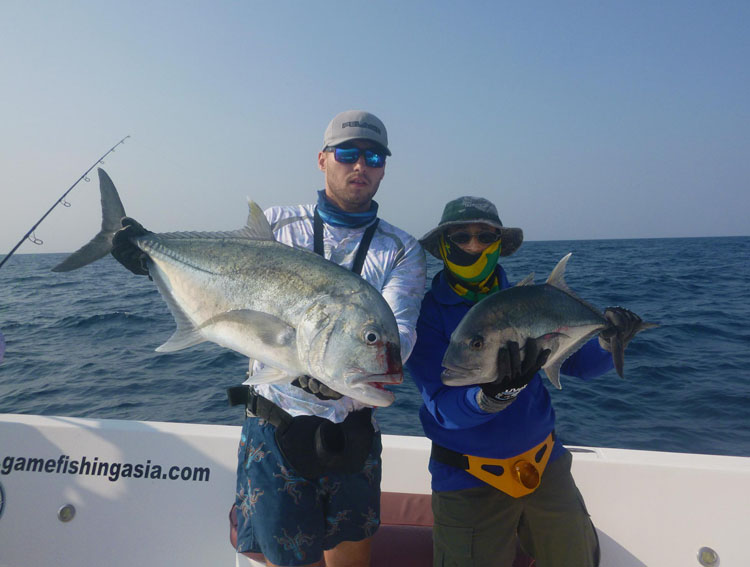 No21_Giant-trevally_double-hookup_fishing_popping_andaman_Daiwa-Saltiga_gamefishingasia_boat_big-fish_gtpopping_boat-charter_anglers_Sam-Mitchison_Robert-Walter