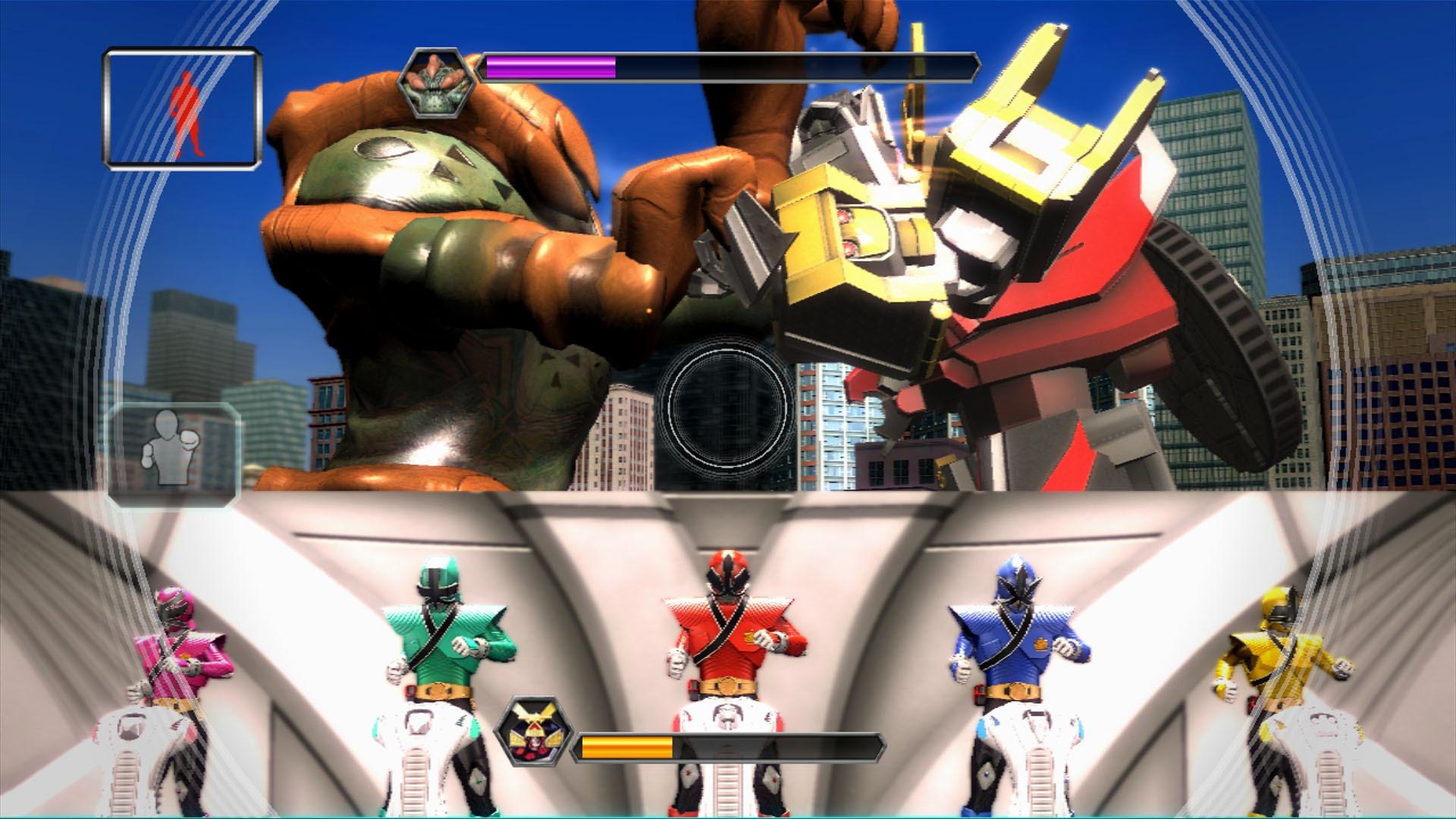 Novas imagens de Power Rangers Super Samurai Kinect