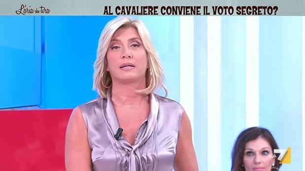 Myrta Merlino conduttrice hot de L'Aria che Tira (La7)