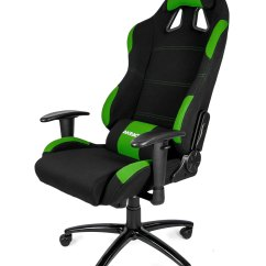 Gaming Chairs Pc Wrought Iron Table And 4 Akracing Chair Black Green Ak K7012 Bg