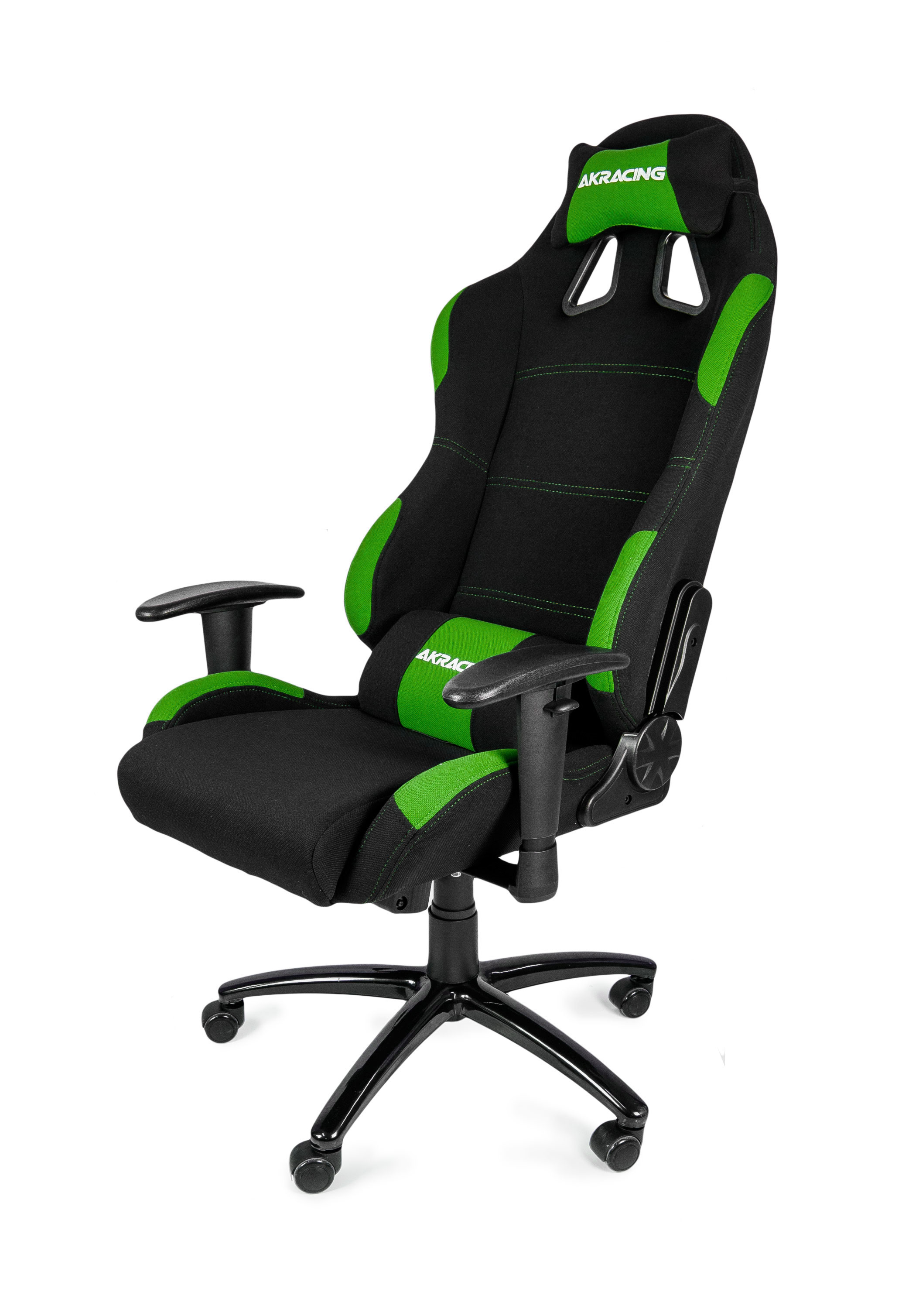 gamer computer chair baby bouncy akracing gaming black green ak k7012 bg