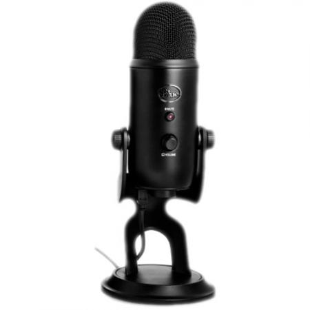 Blue Microphones  Yeti USB Blackout  Gamegearbe