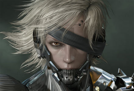 Raiden Metal Gear Solid Rising MGS