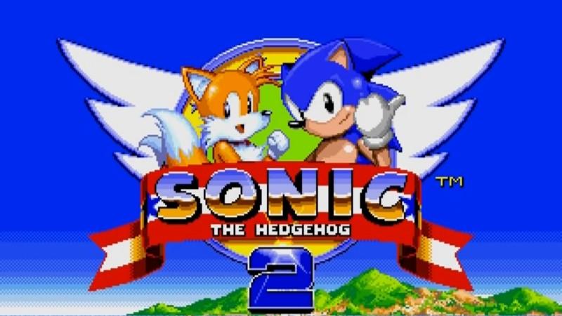 sonic the hedgehog 2 menu screen