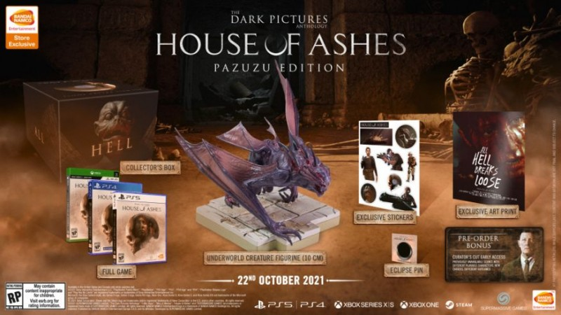 The Dark Pictures Anthology: House of Ashes Gets A Release Date And A Terrifying Collector's Edition 2