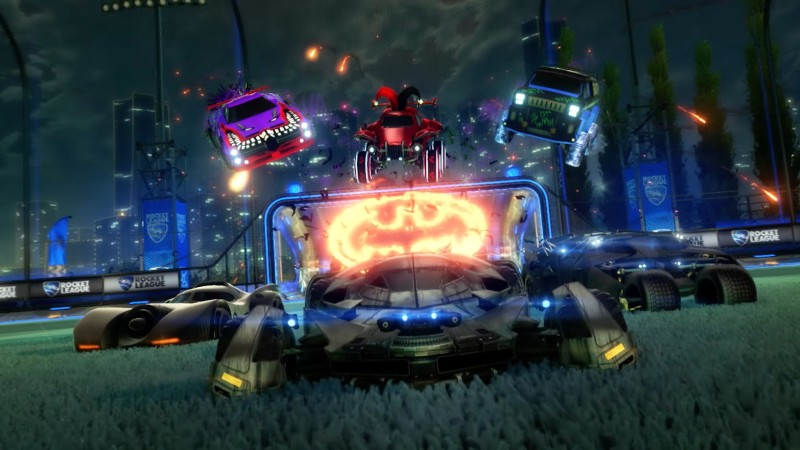 Batman-Themed Haunted Hallows Event Starts Tomorrow In Rocket League 3