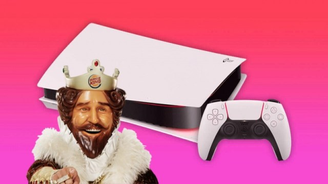 PlayStation Reveals PS5 Box With The Help Of Burger King 2