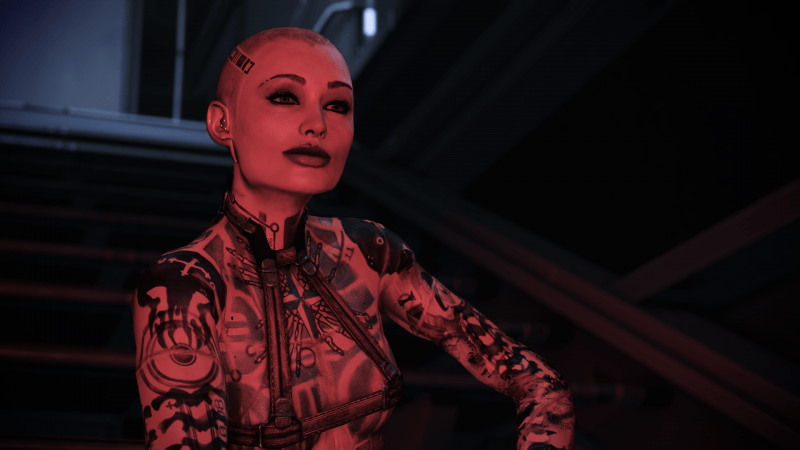 Same-Sex Mass Effect Legendary Edition Mods Are On The Way