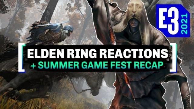 Elden Ring Reactions + Summer Game Fest Recap 2