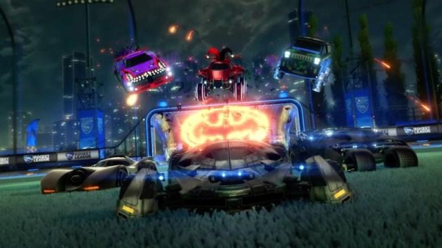 Batman-Themed Haunted Hallows Event Starts Tomorrow In Rocket League 2