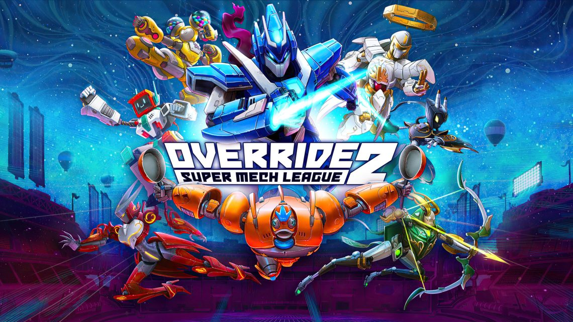 Override 2: Super Mech League – Closed Beta läuft vom 2. bis 4. Oktober